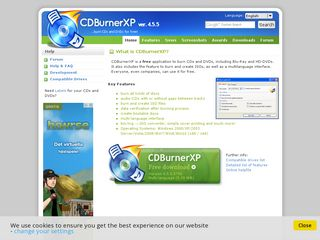 Preview of cdburnerxp.se