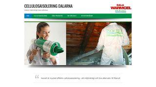 Earlier screenshot of cellulosaisoleringdalarna.se