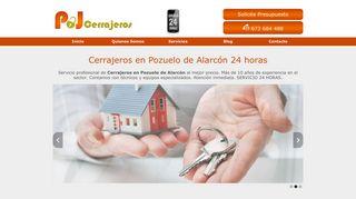 cerrajerospozuelodealarcon24horas.es
