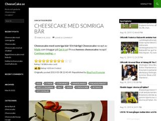 cheesecake.se
