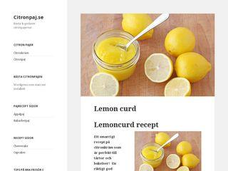 citronpaj.se