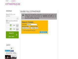 cityhotels.se