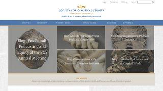 classicalstudies.org