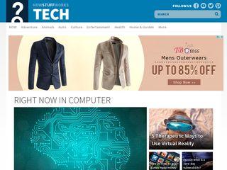 Earlier screenshot of computer.howstuffworks.com