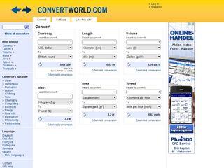 Preview of convertworld.com