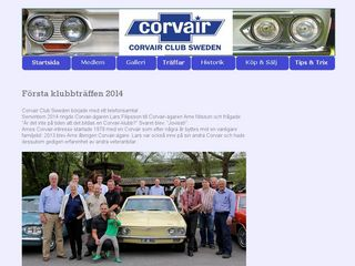 corvairclubsweden.se