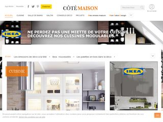 Preview of cotemaison.fr