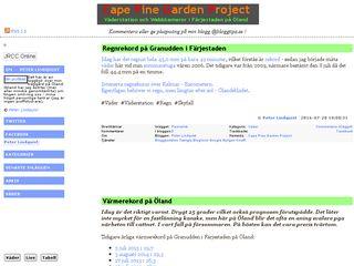 Earlier screenshot of cpgp.blogg.se