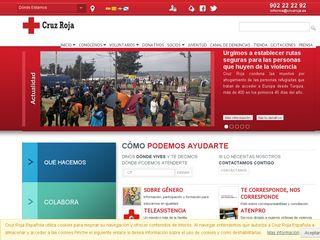 Preview of cruzroja.es