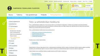 Earlier screenshot of cs.tut.fi