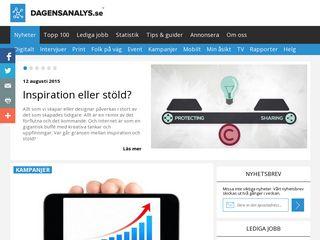 Earlier screenshot of mediaklar.com