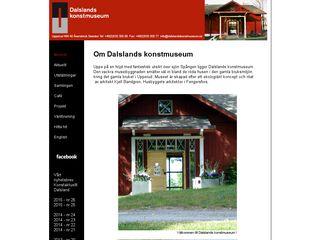 dalslandskonstmuseum.se