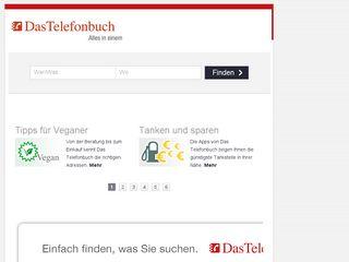 Earlier screenshot of dastelefonbuch.de