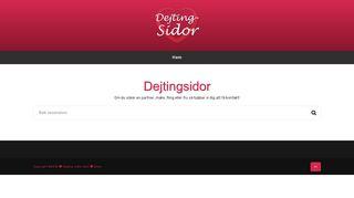 dejting-sidor.com