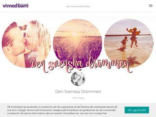 Earlier screenshot of densvenskadrommen.se