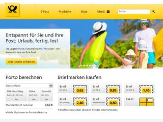deutschepost.de briefstatus