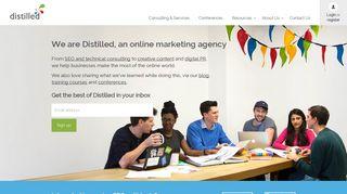distilled.net