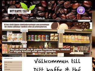 Earlier screenshot of dittkaffeochthe.se