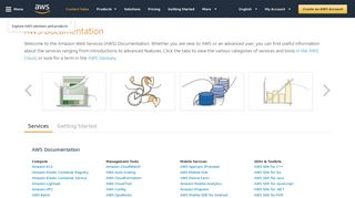 docs aws amazon com | Domainstats com