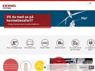 Preview of dongenergy.dk