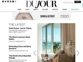 Preview of dujour.com