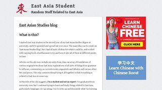 eastasiastudent.net
