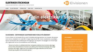 elektrikerstockholm.biz