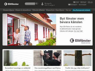 Preview of elitfonster.se
