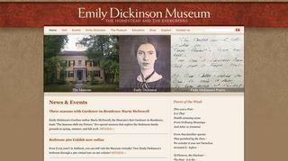 emilydickinsonmuseum.org
