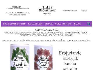 enklablommor.se