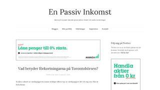 enpassivinkomst.se