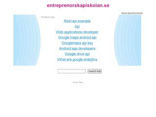 entreprenorskapiskolan.se