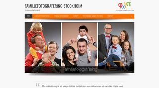 Earlier screenshot of familjefotograferingstockholm.se