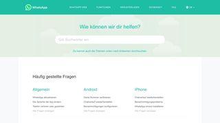 Faqwhatsappcom Domainstatscom
