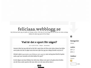 feliciaaa.webblogg.se