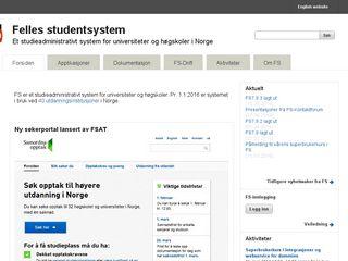 fellesstudentsystem.no