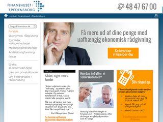 Earlier screenshot of finanshus.dk