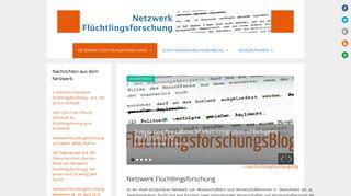 fluechtlingsforschung.net