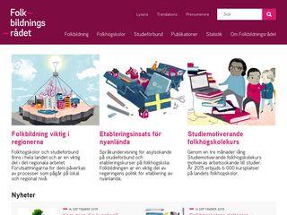 folkbildningsradet.se