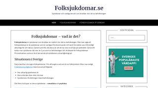 folksjukdomar.se