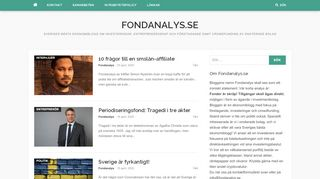 fondanalys.se