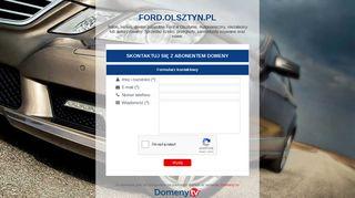 Earlier screenshot of ford.olsztyn.pl