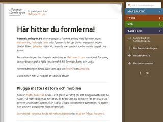 formelsamlingen.se