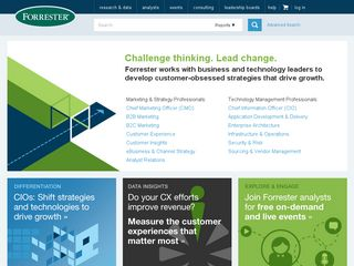 Preview of forrester.com