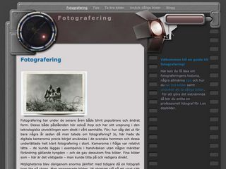 Earlier screenshot of fotografering.biz