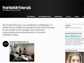 frankelandfriends.se