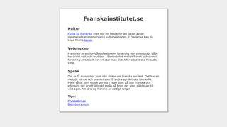 franskainstitutet.se