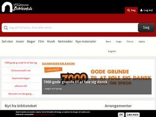 Earlier screenshot of bredstrup-pjedsted.dk