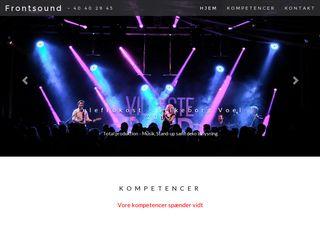 frontsound.dk
