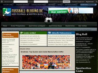 fussball-blogging.de